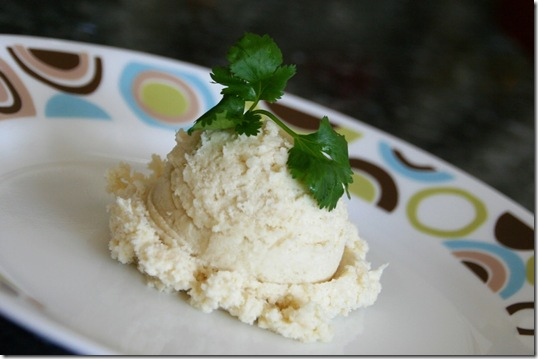 Cheesy cauli mashed potatoes