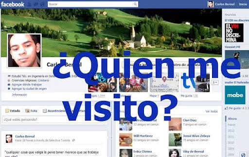 Quien visito mi perfil de facebook