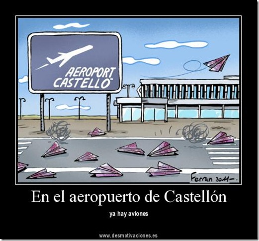 Cosas divertidas humor aeropuerto de castell n - Electricistas en castellon ...