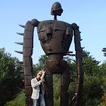 matt and robot-san in Mitaka, Tokyo, Japan