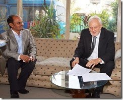Shamim Masih, interviews Peter Heyward, Australian High Commissioner in Islamabad