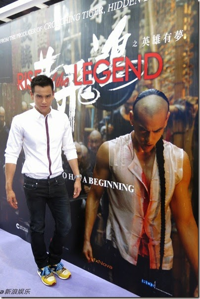 2014.04.04 Eddie Peng during Rise of the Legend - 彭于晏 黃飛鴻之英雄有夢 福州 - 新片推介会 01