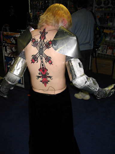 Sydney of Vagrant Story. Most amazingly, that is a real tattoo.