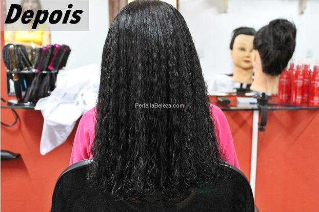 alisamento para cabelo afro de criança