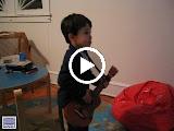 Kai playing guitar with the Eurythmics