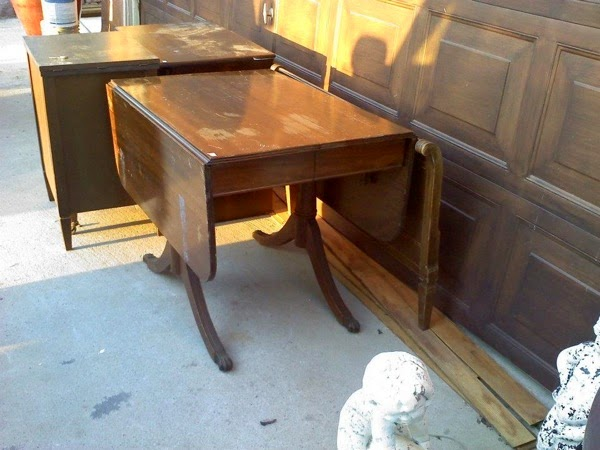 Duncan phyfe table before l