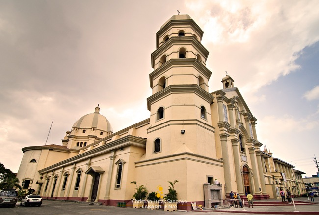 Lipa Cathedral&#39;s Romanesque Facade