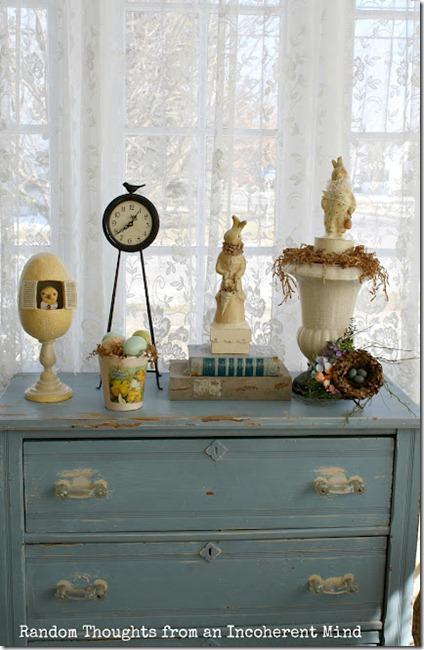blue dresser more dresser
