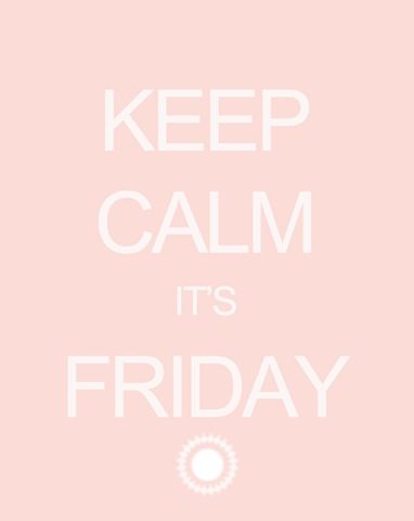 Semplicemente Perfetto KeepCalm Its Friday