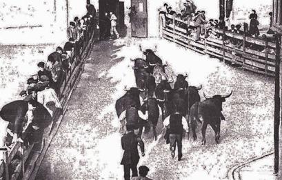 1912-07-18 (p.Nuevo Mundo) Encierros Pamplona
