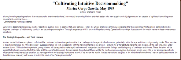 IntuitiveDecisionMaking