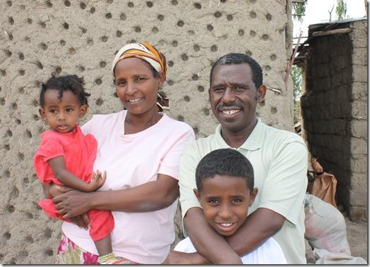 Pastor Zerihun & family