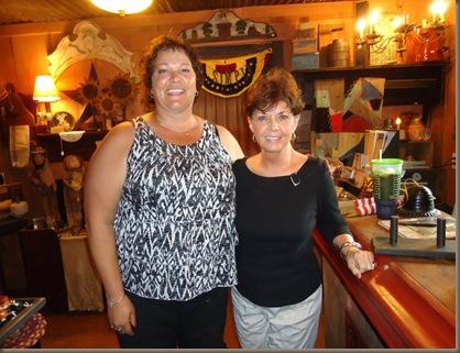 Karen and Vicki