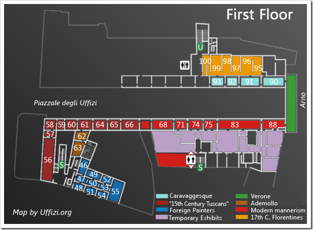 map-first-floor