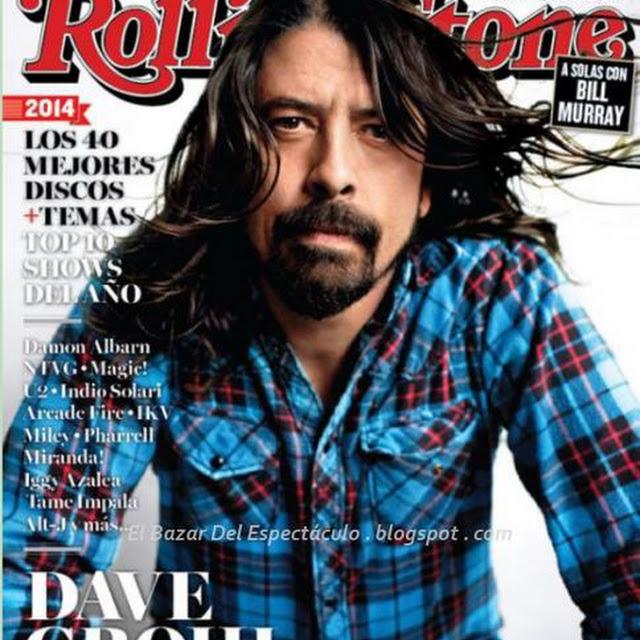 Dave grohl en revista rolling stone enero 2015 tapa y for Revistas del espectaculo