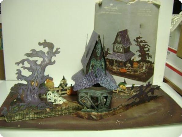 halloween house pop up