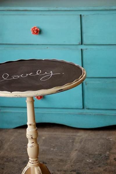 ChalkboardPaintIdeas TableTop1 Chalkboard Paint Ideas