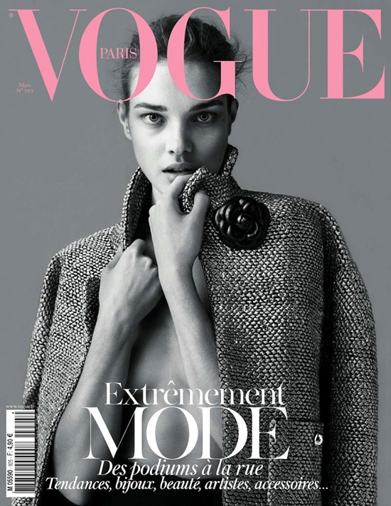 vogue paris march 2012 natalia vodianova