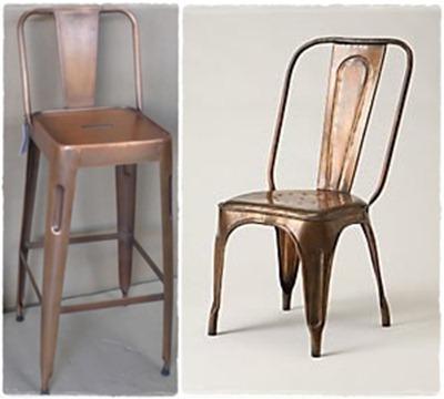 verftechnieken-koper-stoel-kruk