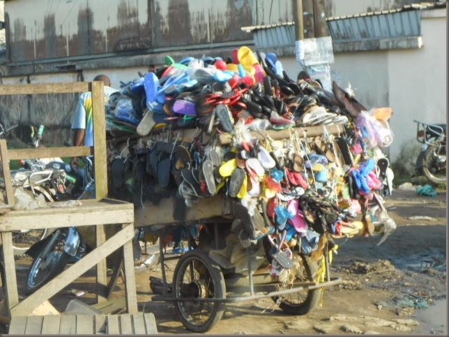 Flip flop vendor