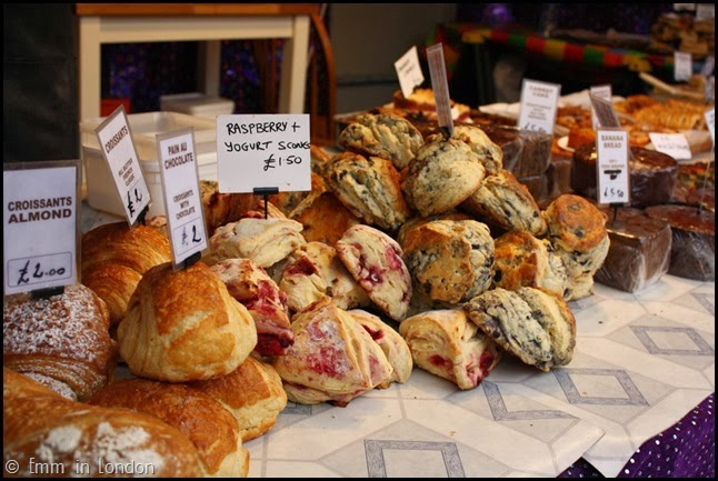 Scones at Belfast Christmas Market