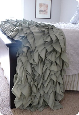 ruffle throw tutorial