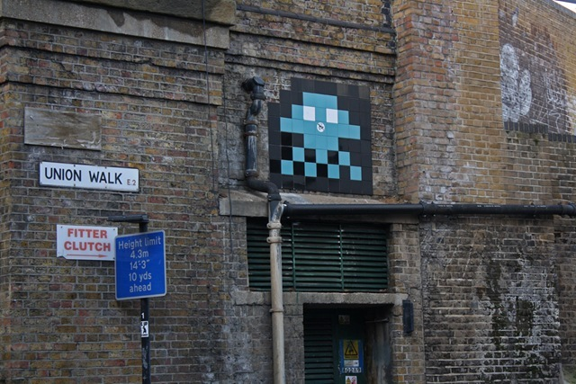 London Street Art Invader