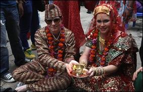 casamento lesbico Nepal