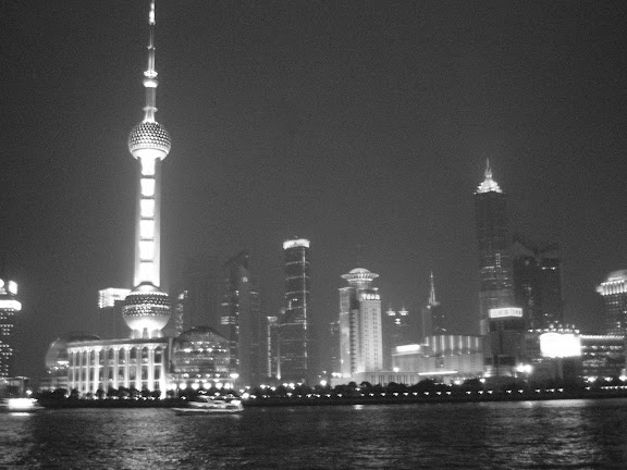 Shanghai Lujiazui by Night