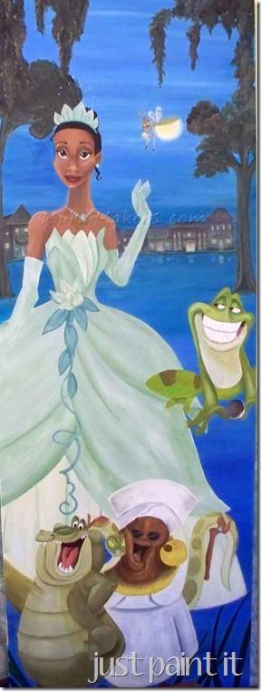 Princess&Frog Mural