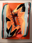 nike lebron 10 ps elite shooting starts pe 6 03 LEBRON X PS Elite Peach Jam AAU EYBL Shooting Stars PE