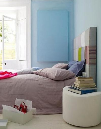 verftechnieken-blauwe-muur-voorbeeld