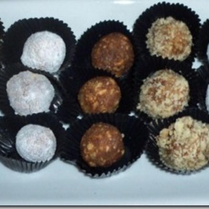 Date Crunchy Balls Recipe