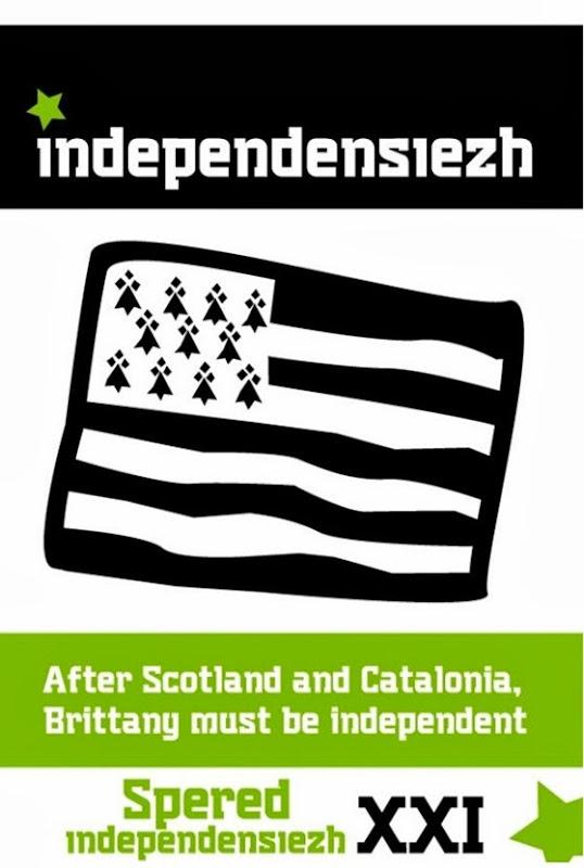Aficha de Bretanha independentista
