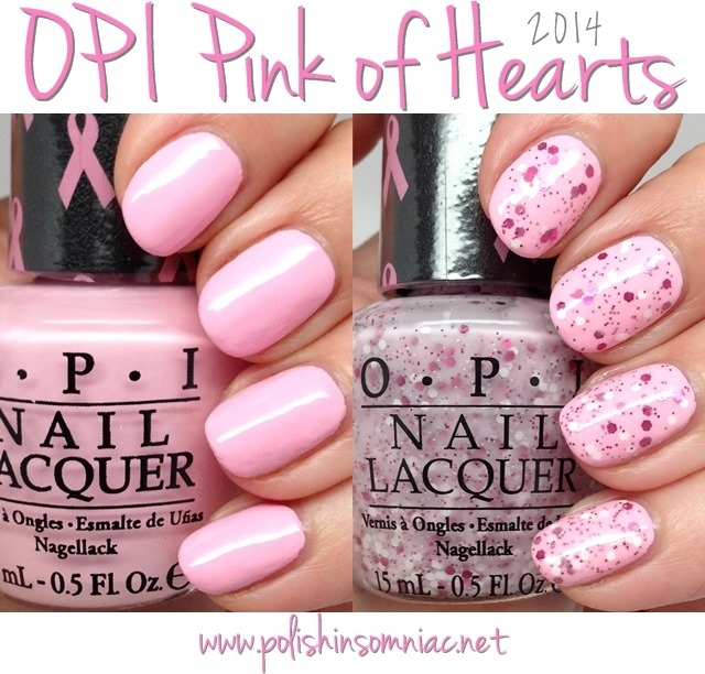 OPI Pink of Hearts 2014 nail polish set