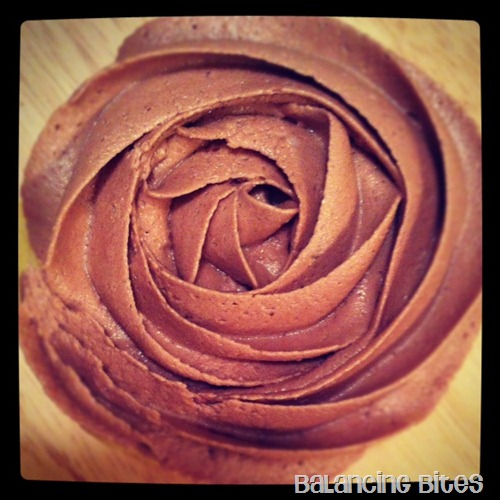 The Best Chocolate Buttercream and Vanilla Cupcake
