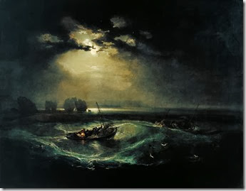 Turner - Fishermen at sea