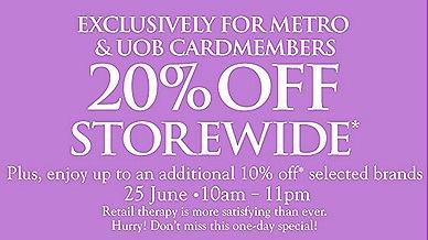 Metro 20% June
