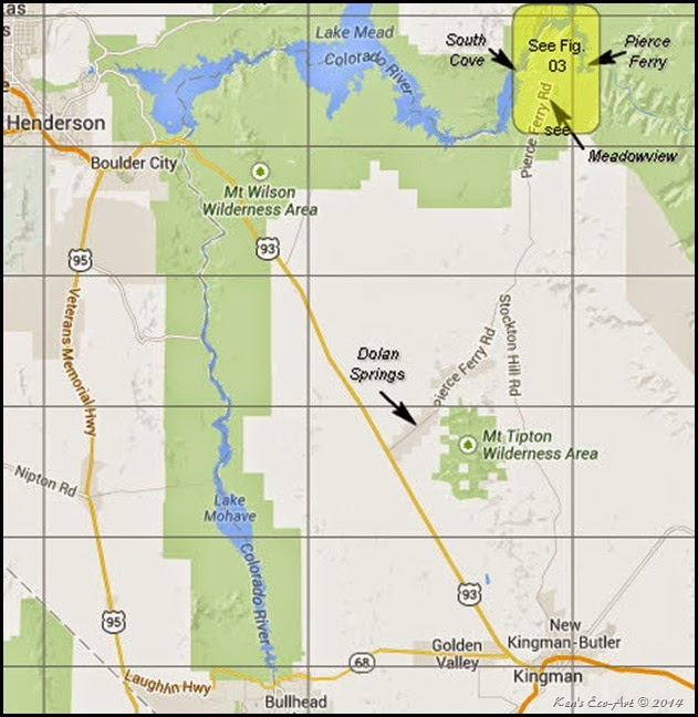 MAP-Pierce Ferry Area