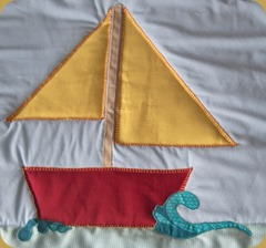 Quilt - boat