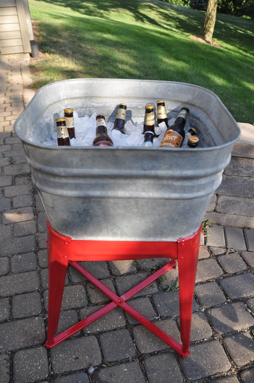 Vintage Wash Tub for Beverages