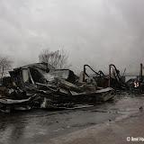 Na de grote brand in loods Nieuwe Pekela - Foto's Rene Harms