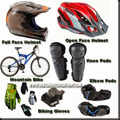 17 bicycling equipment