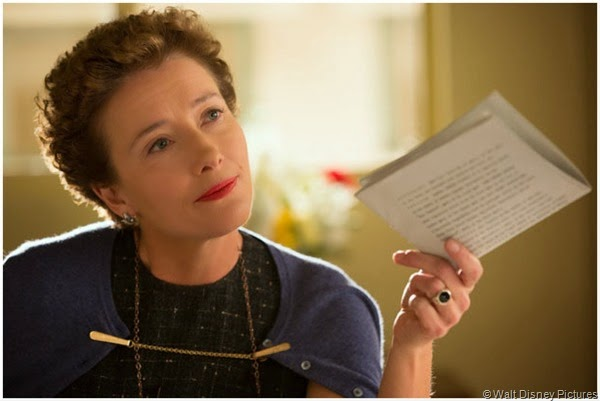 "P.L. Travers (Emma Thompson) dangles the screen rights to ""Mary Poppins"" like a carrot."