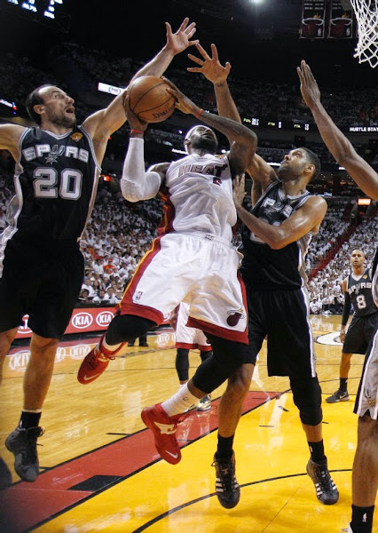 lebron james nba 140612 mia vs sas 14 game 4 Spurs Win Two Straight in Miami. Lead the Series 3 1.