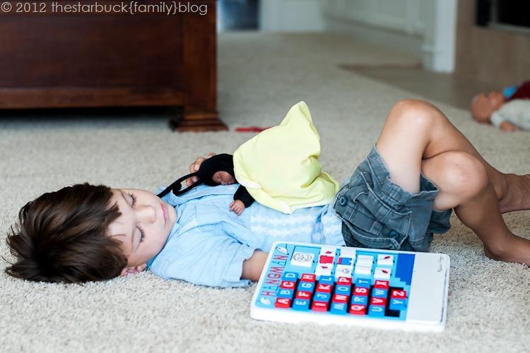 Scott sleeping on floor blog-4