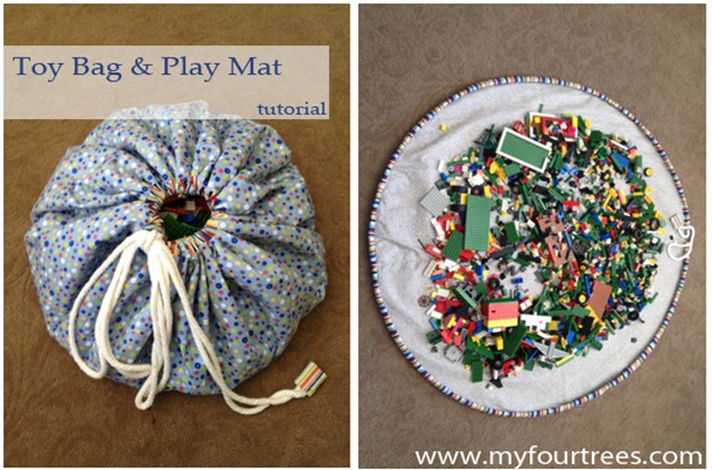 Toy Bag and Play Mat Tutorial