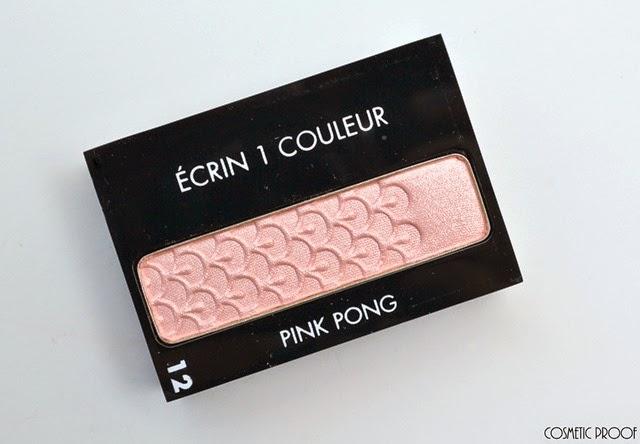 Guerlain Ecrin 1 Couleur Pink Pong Review Swatches Makeup Look (2)