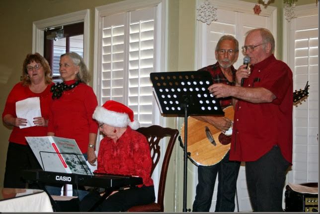 LA-Betty's-Christmas caroling at Nursing homes 5