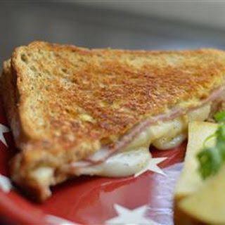 Ham and Pear Panini